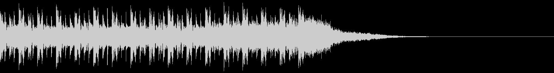導入BGM ラジオの未再生の波形