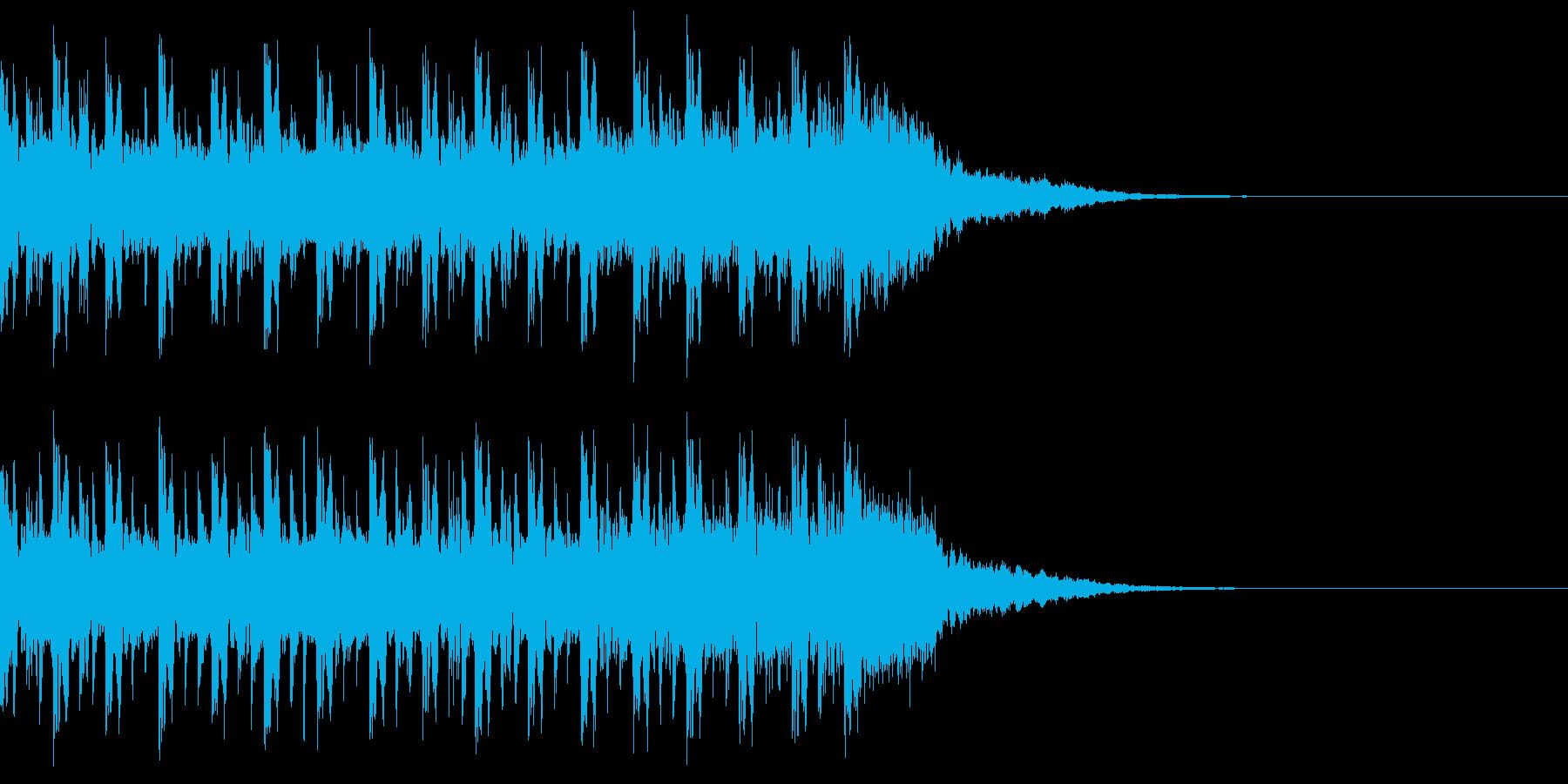 導入BGM ラジオの再生済みの波形