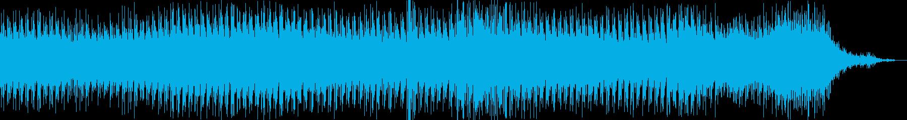 疾走感のあるミニマルなシーケンスの再生済みの波形