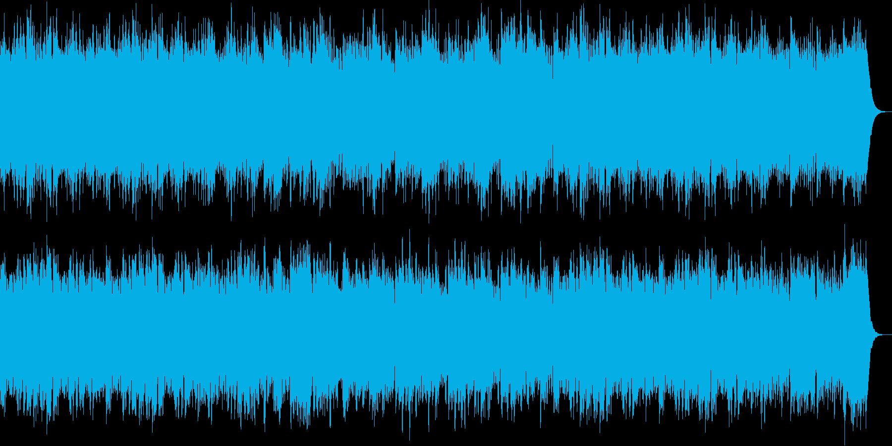懐かしい感じのオルゴールの再生済みの波形