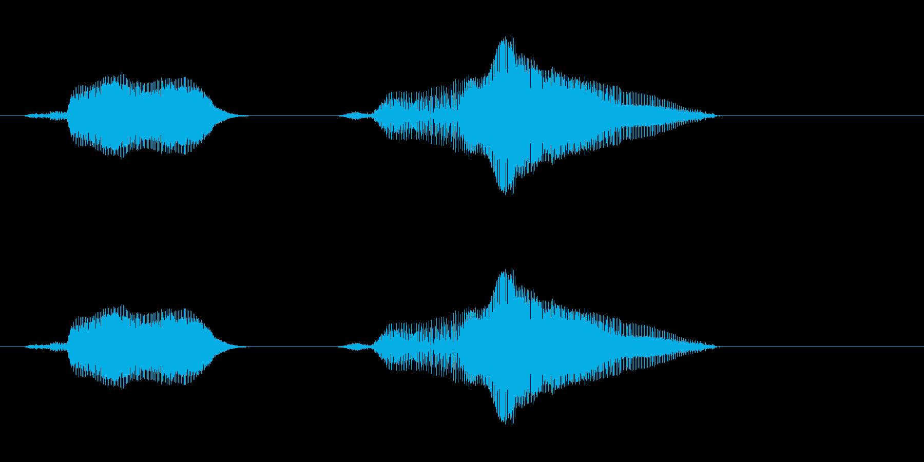 スイッチオン!の再生済みの波形