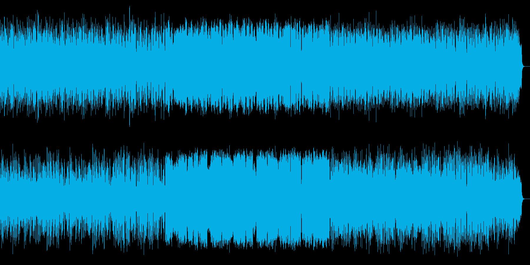 ほのぼのと優しさ溢れるメロディアスな楽曲の再生済みの波形