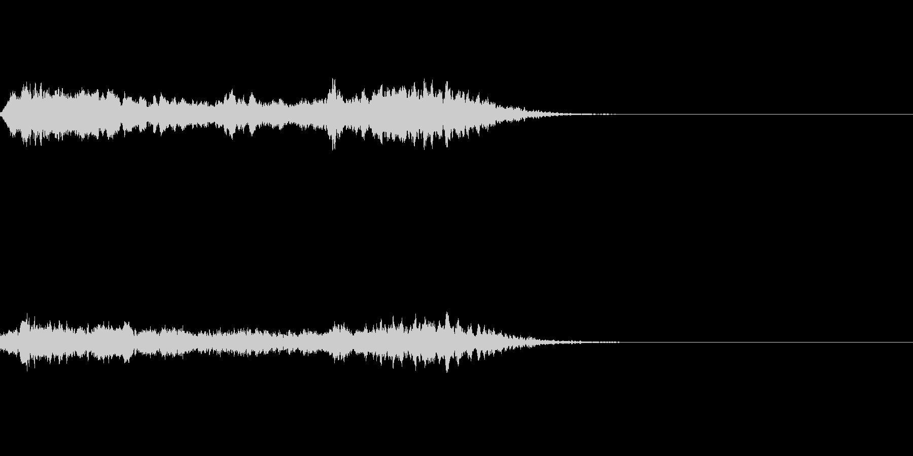ブ〜ン!蜂ハチや昆虫が飛ぶ鳴く効果音03の未再生の波形