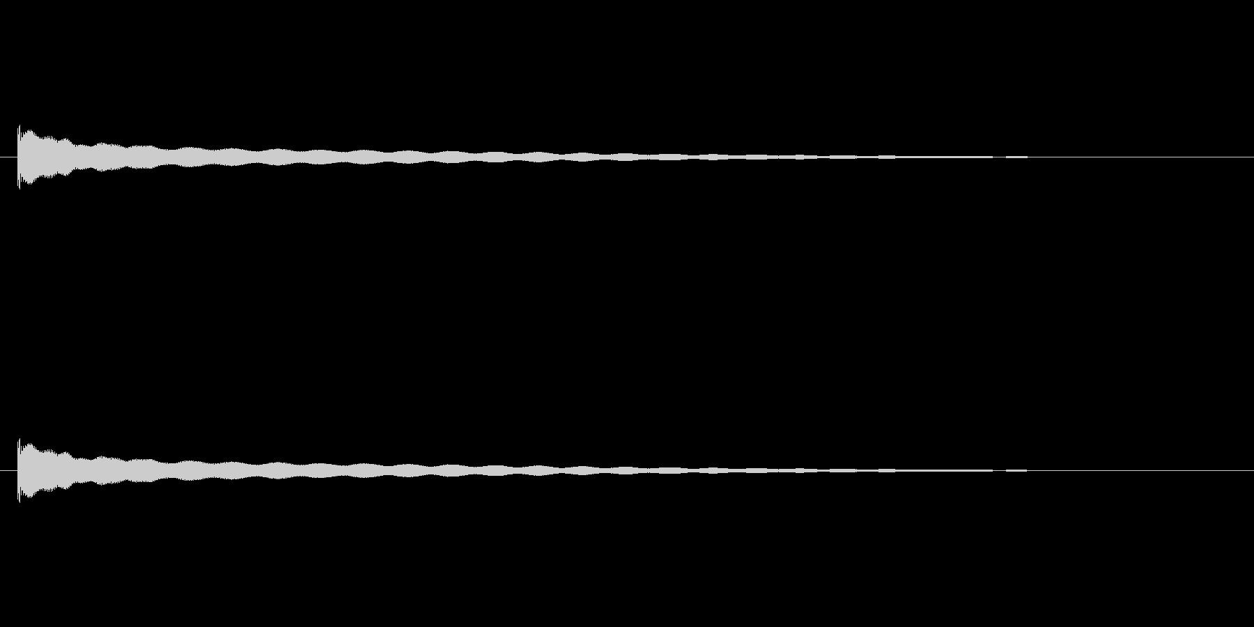 【チーン04-1】の未再生の波形