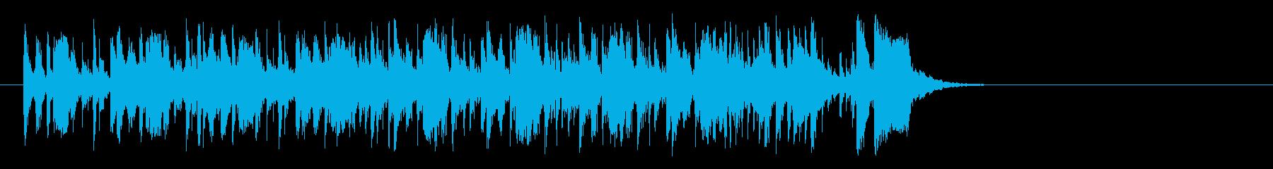 前向きなフュージョン(イントロ)の再生済みの波形