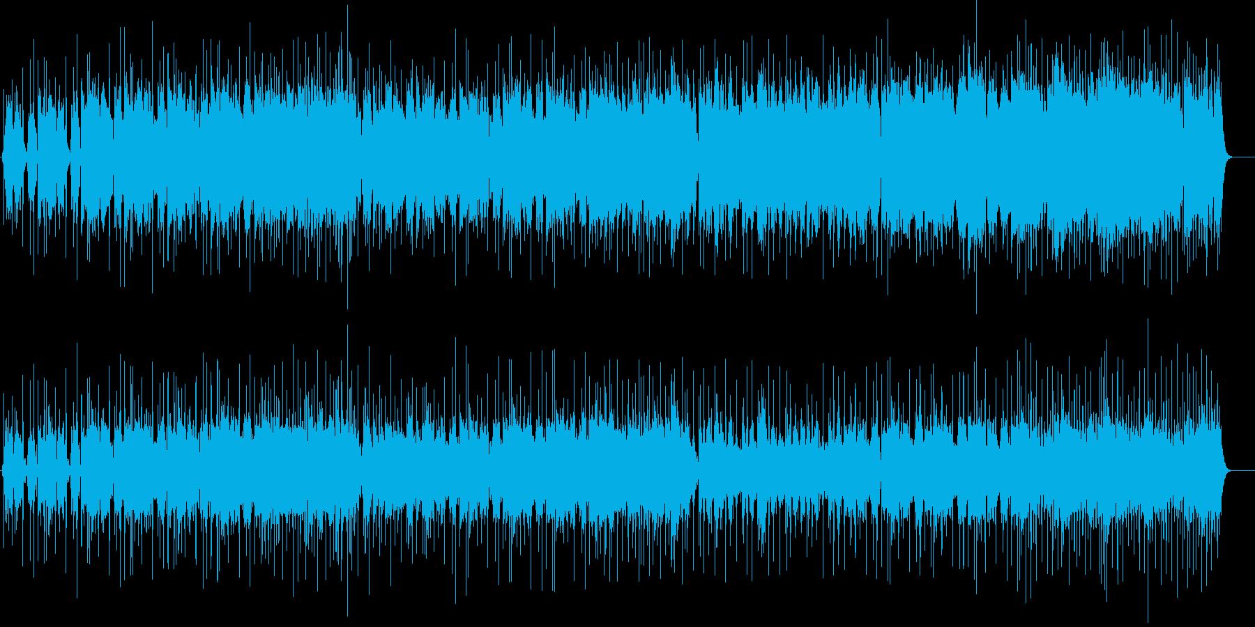 ギターソロが超クールなハードロックの再生済みの波形