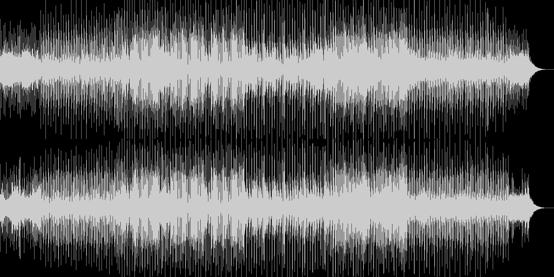 どことなくユーモラスで軽快なBGMの未再生の波形