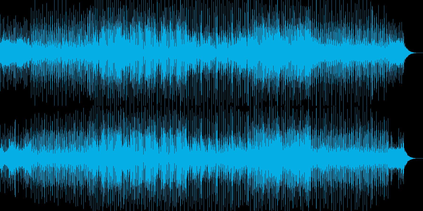 どことなくユーモラスで軽快なBGMの再生済みの波形