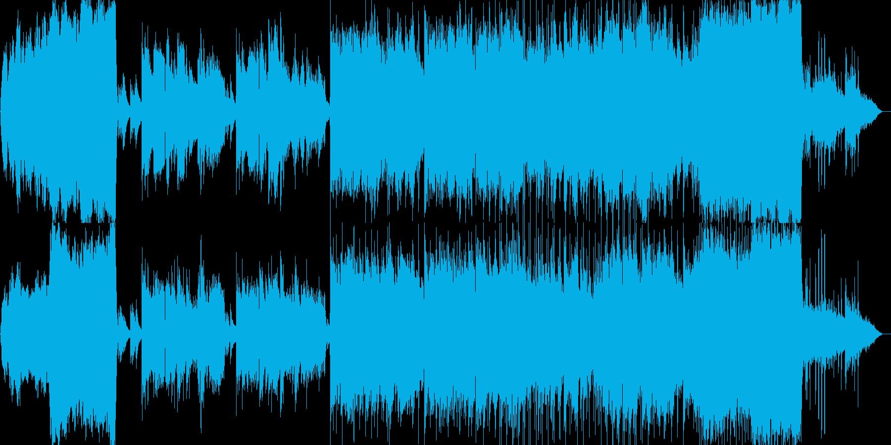 エンディングにぴったりのライトクラシックの再生済みの波形
