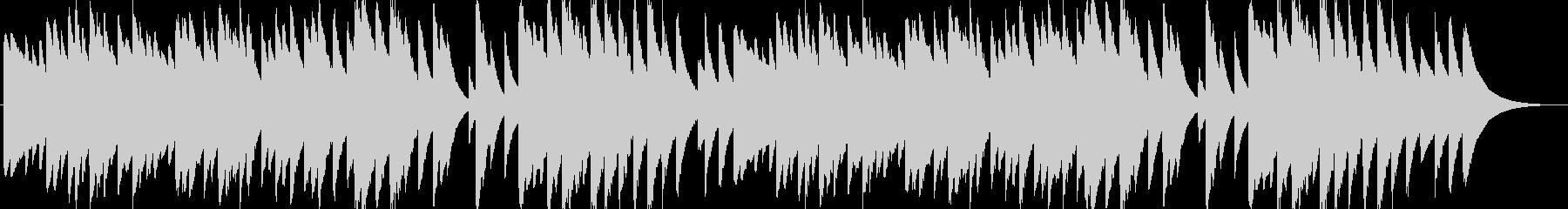 日本の歌・唱歌「ふるさと」のオルゴールの未再生の波形