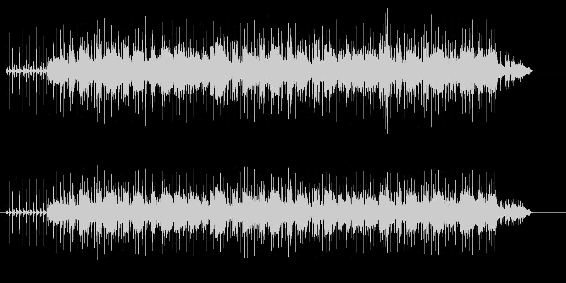 アコースティックなほのぼのフュージョンの未再生の波形