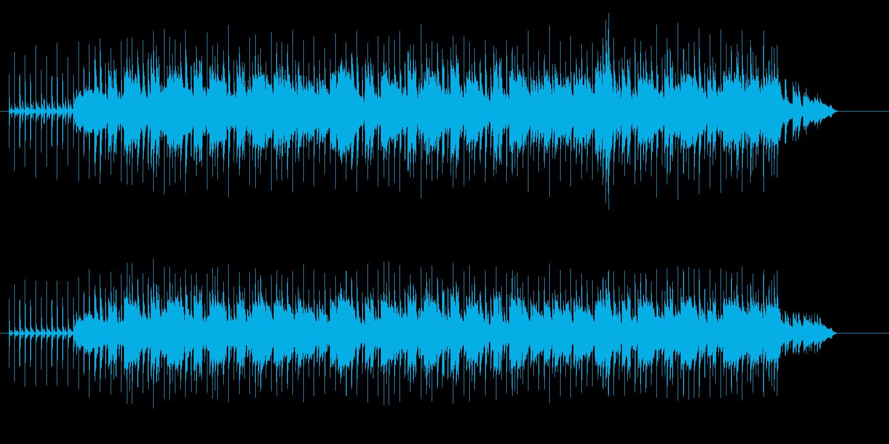 アコースティックなほのぼのフュージョンの再生済みの波形