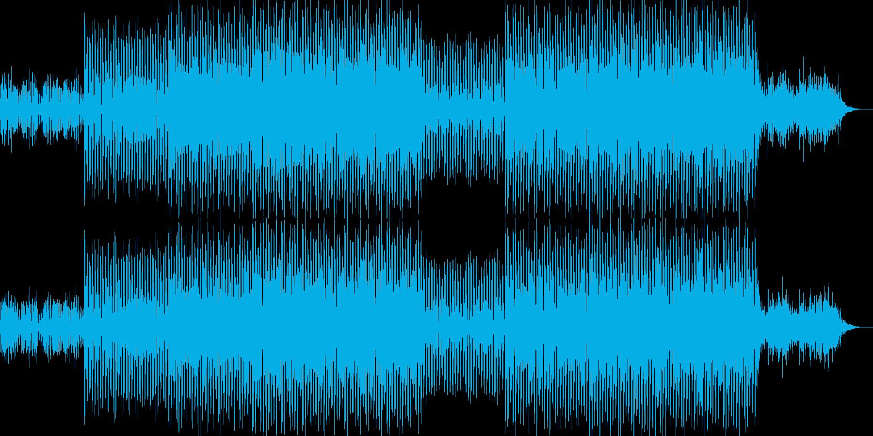 ニュース映像ナレーションバック向け-16の再生済みの波形