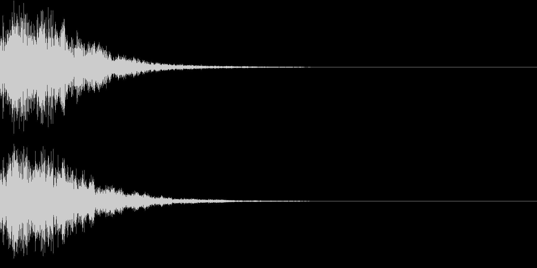 プッチーン(感情:怒る)の未再生の波形