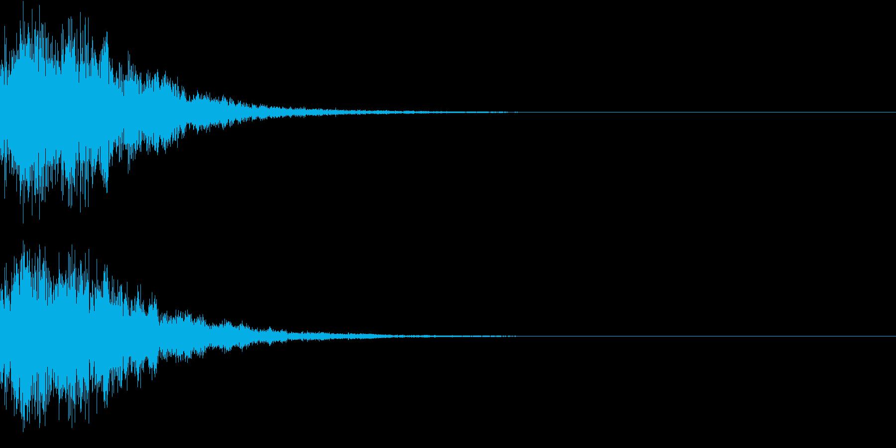 プッチーン(感情:怒る)の再生済みの波形