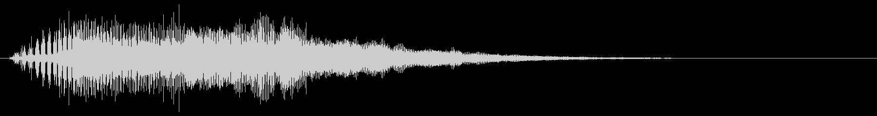 ライトセーバー レーザーブレード 上昇形の未再生の波形