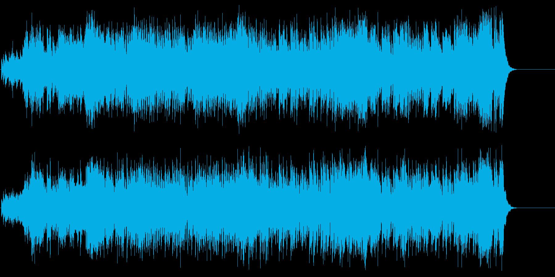アメリカンフレーバーのストレートポップスの再生済みの波形