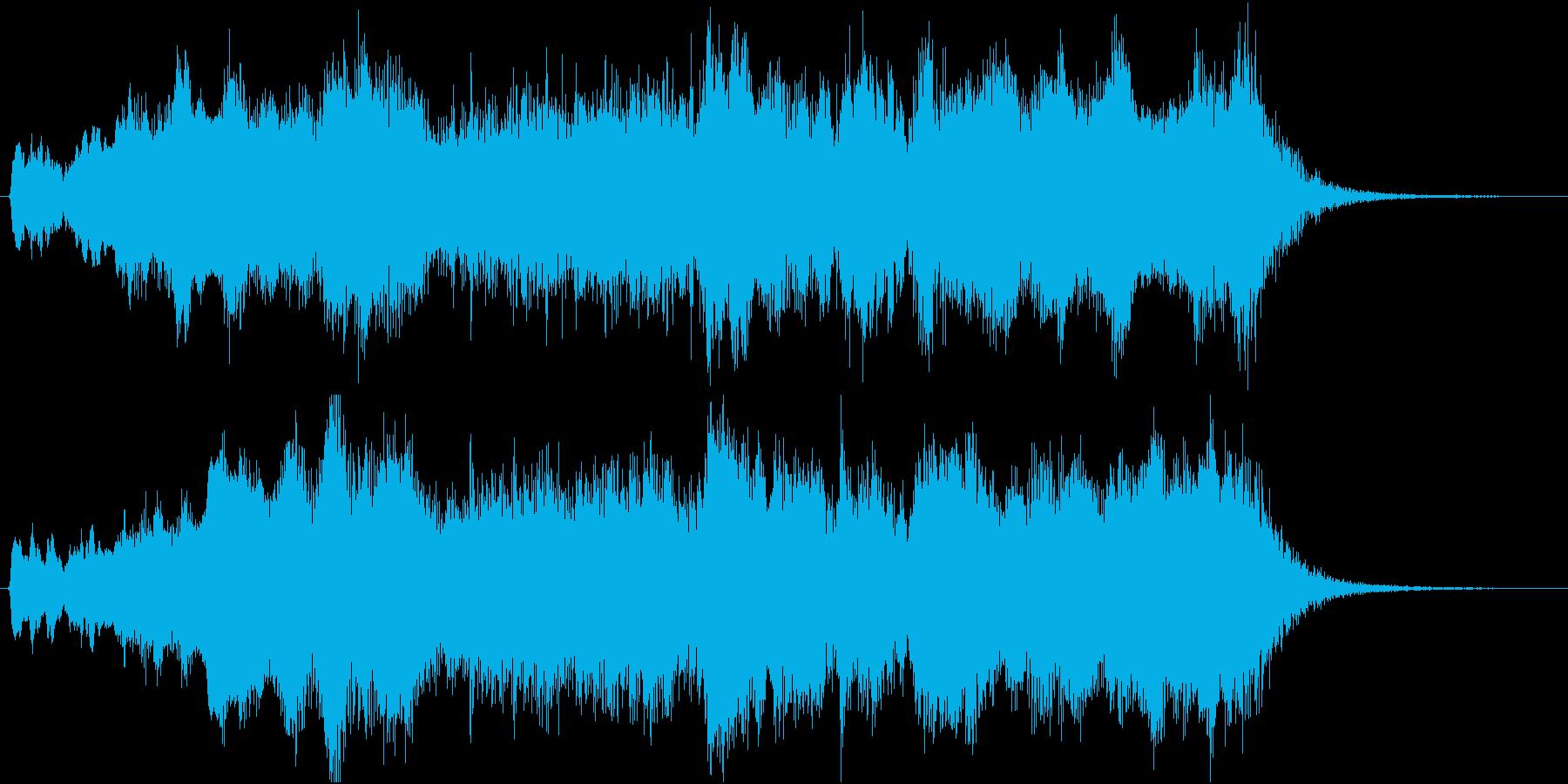 発表!表彰式ファンファーレ【3等・銅賞】の再生済みの波形