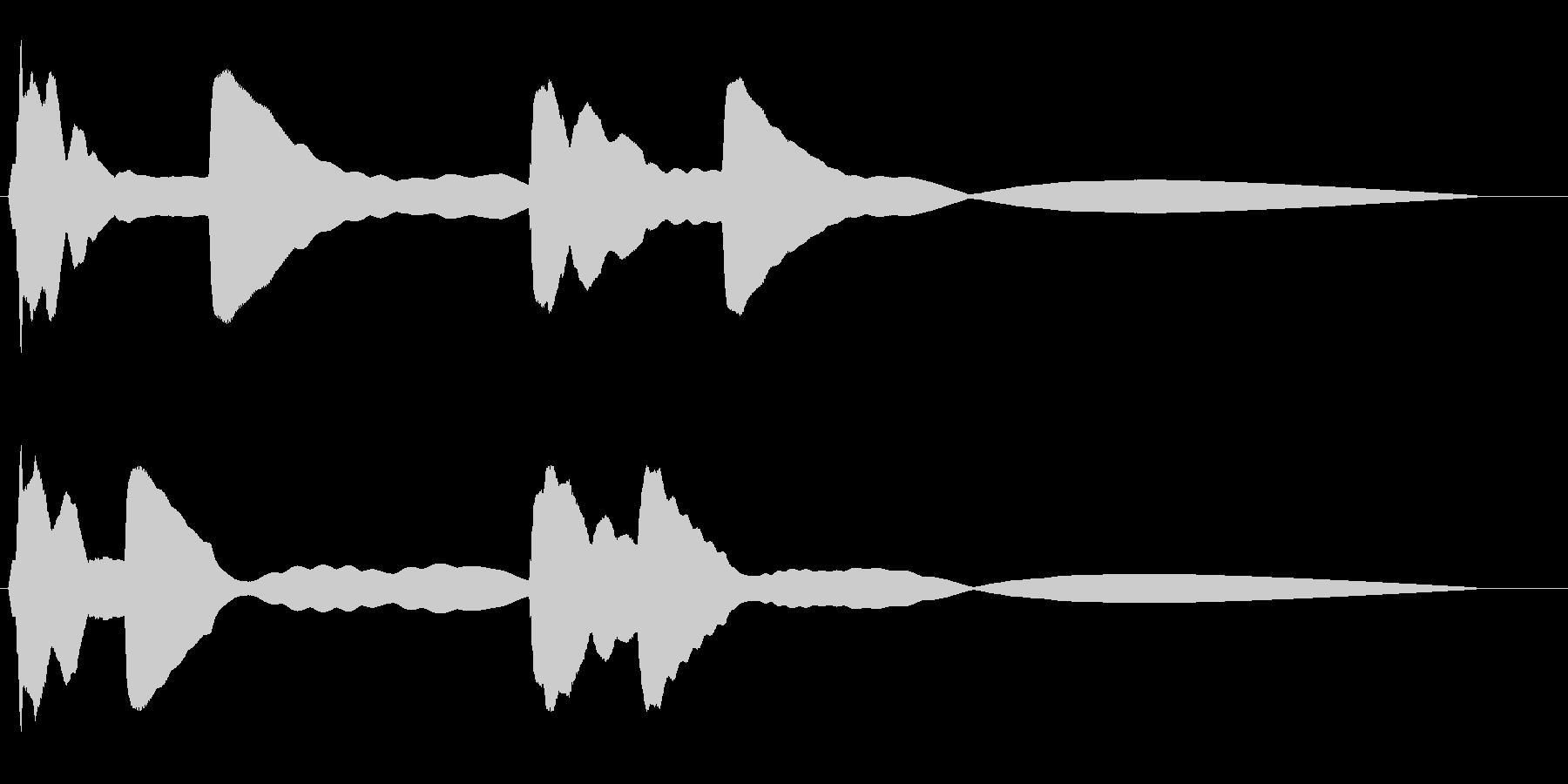 ポポポーン ピピピーン宇宙船レーダーの未再生の波形