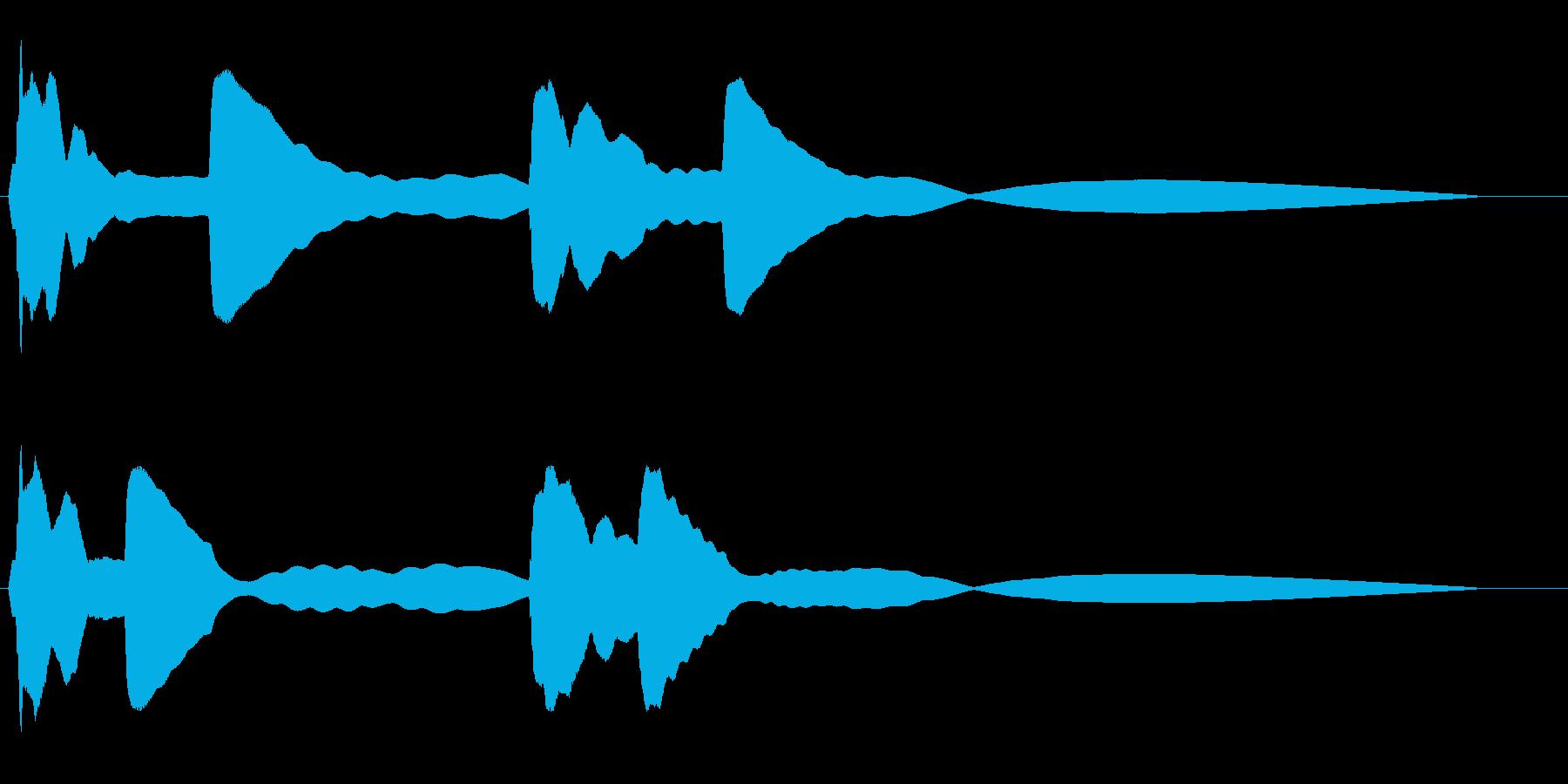 ポポポーン ピピピーン宇宙船レーダーの再生済みの波形