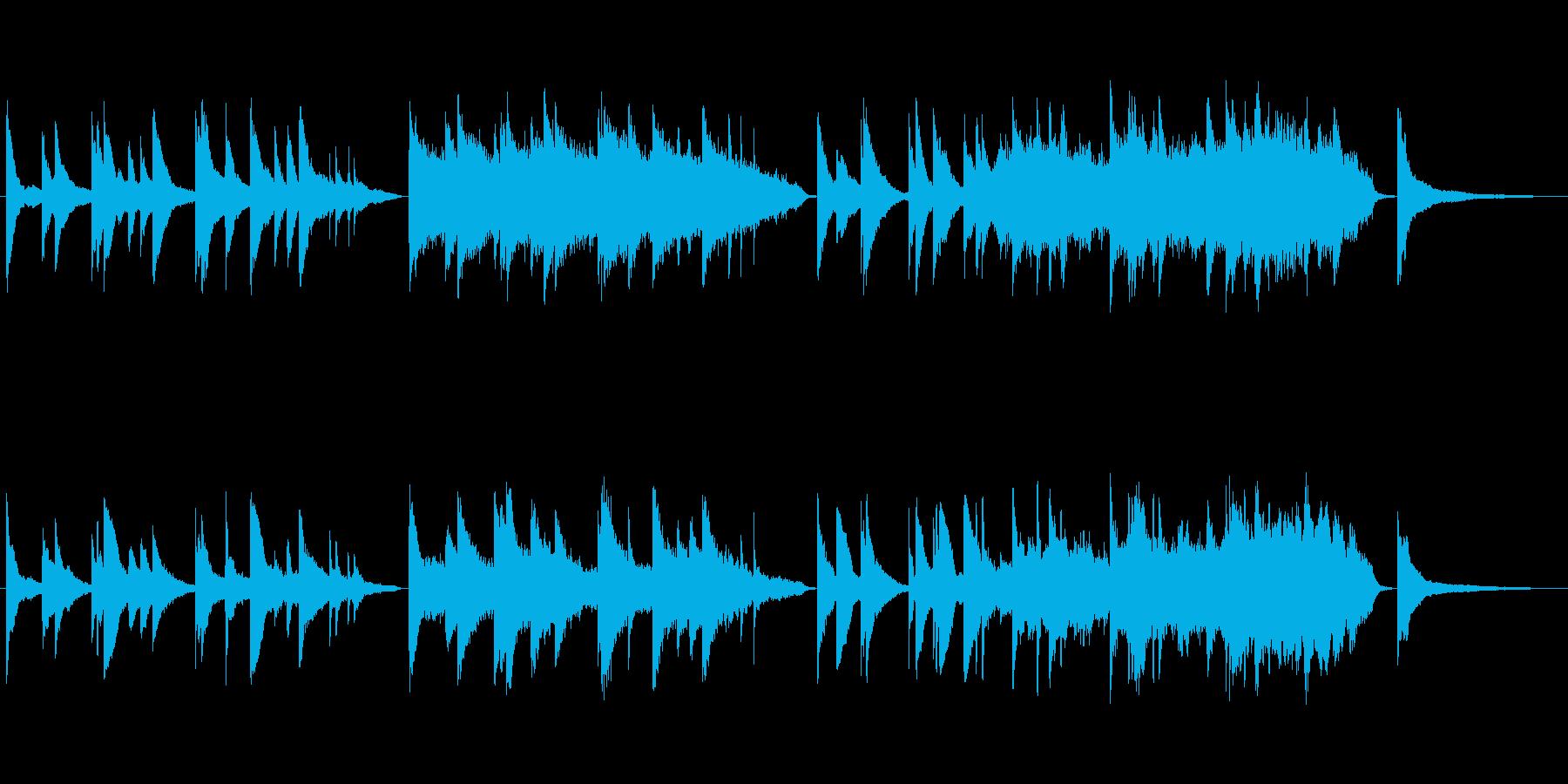トレーラー(予告編)・邦画の再生済みの波形