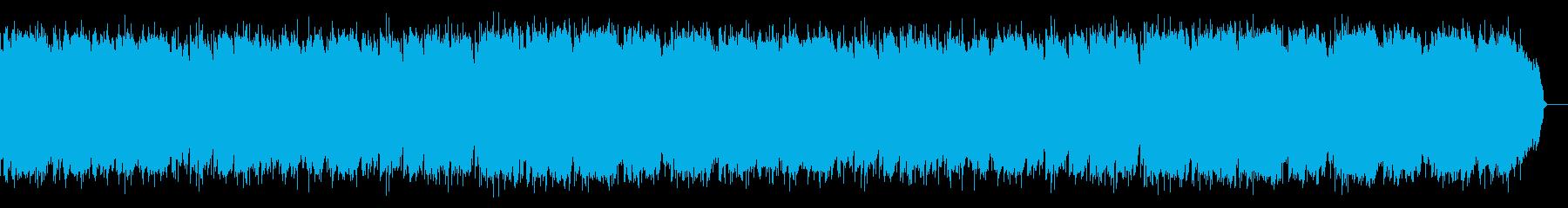 ロカバラのサビがジャズ風で明るいポップスの再生済みの波形