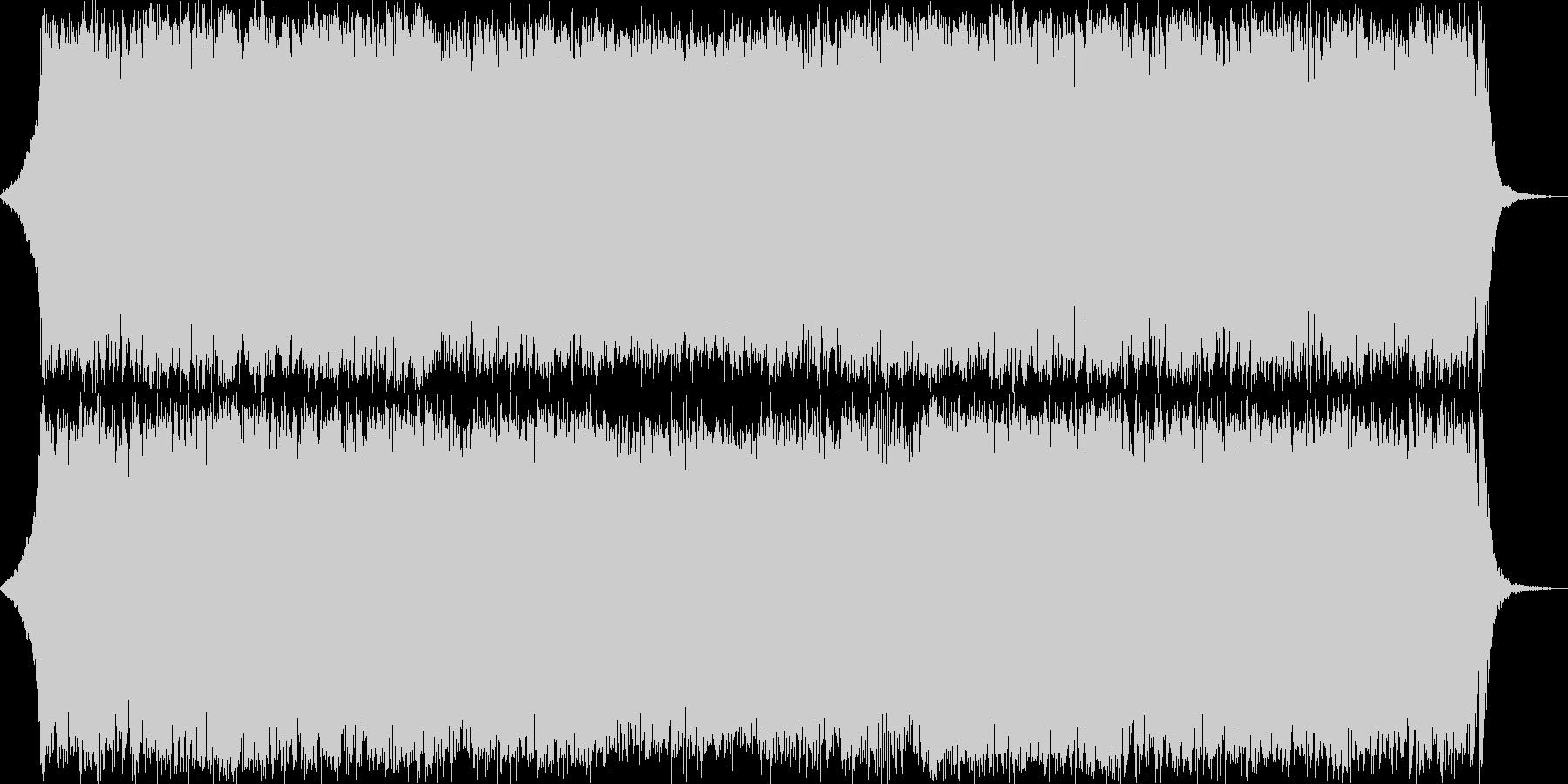 ダークファンタジーオーケストラ戦闘曲51の未再生の波形