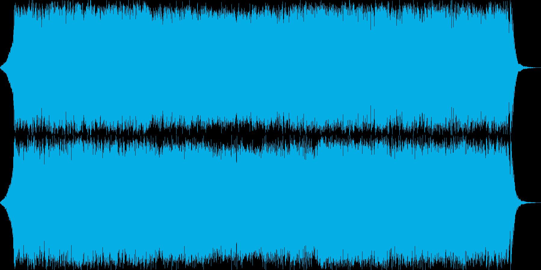 ダークファンタジーオーケストラ戦闘曲51の再生済みの波形