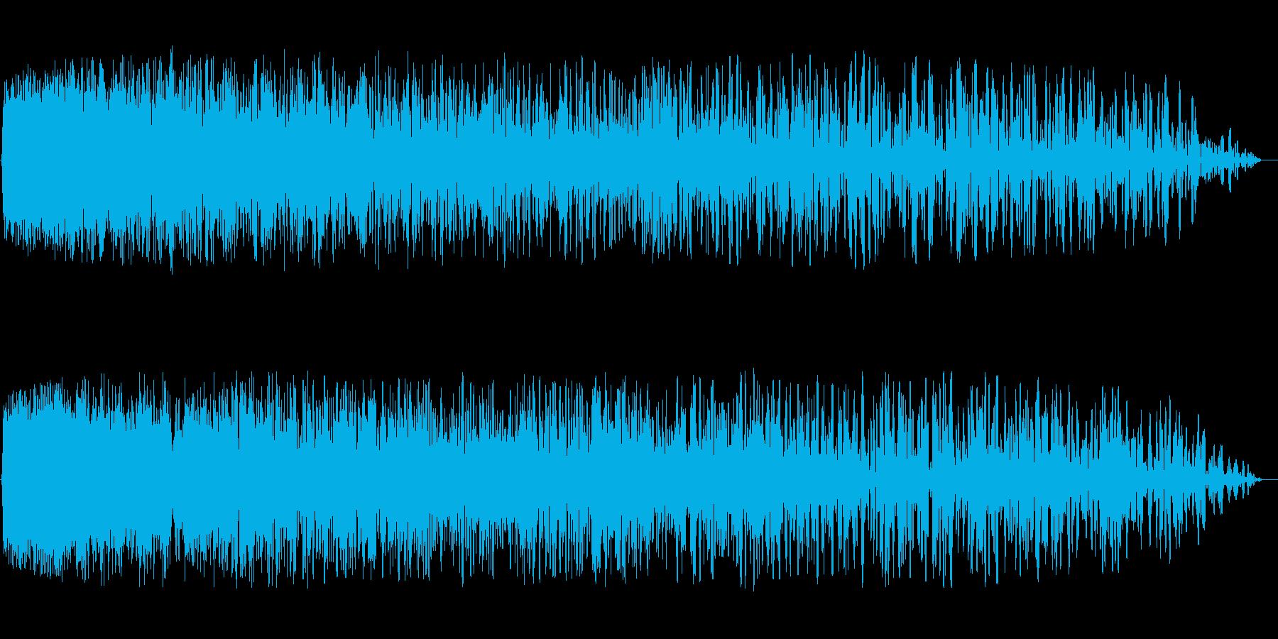 シュゥ〜〜〜〜〜〜ンの再生済みの波形