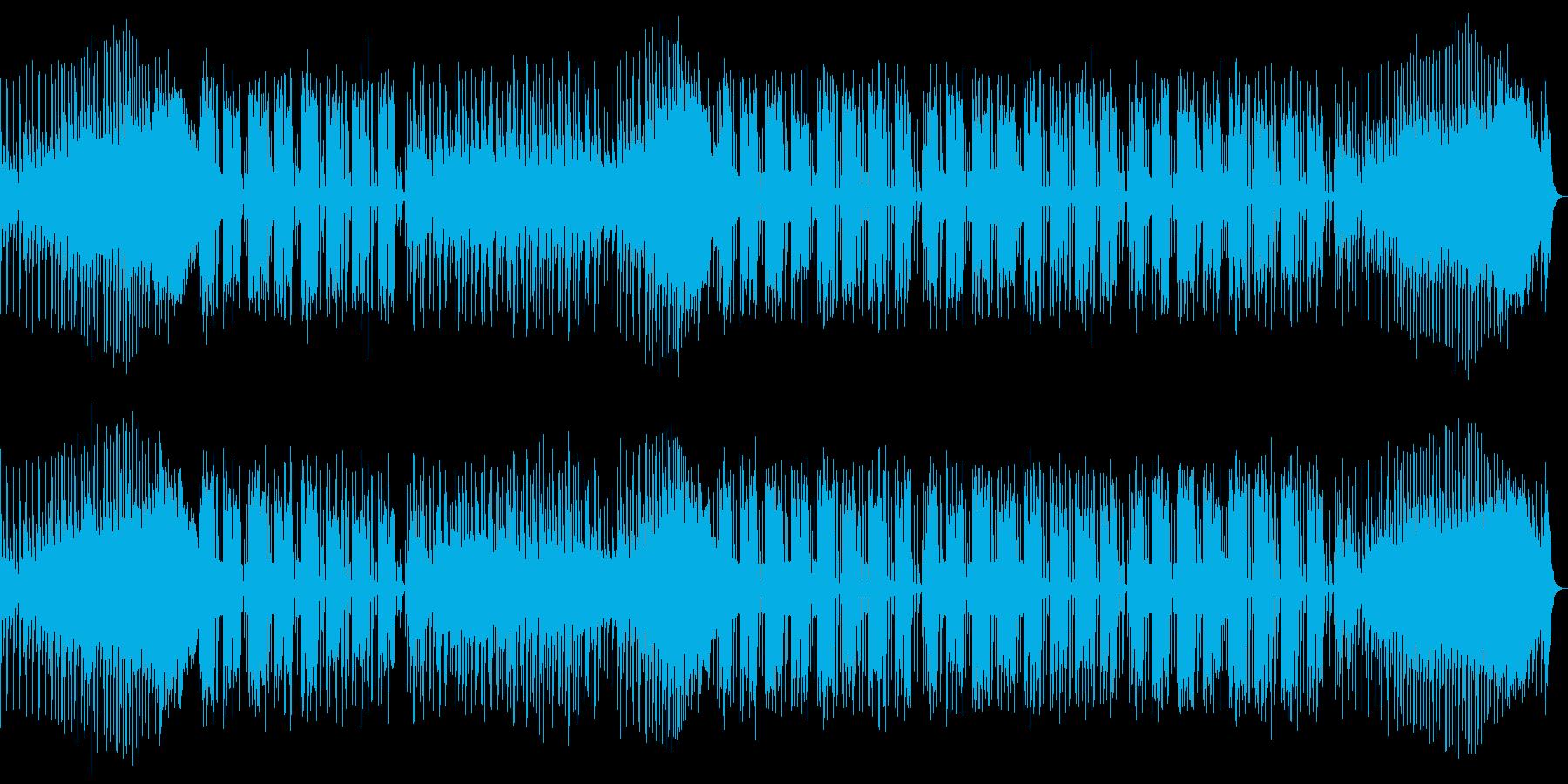 ビーチサイドの再生済みの波形