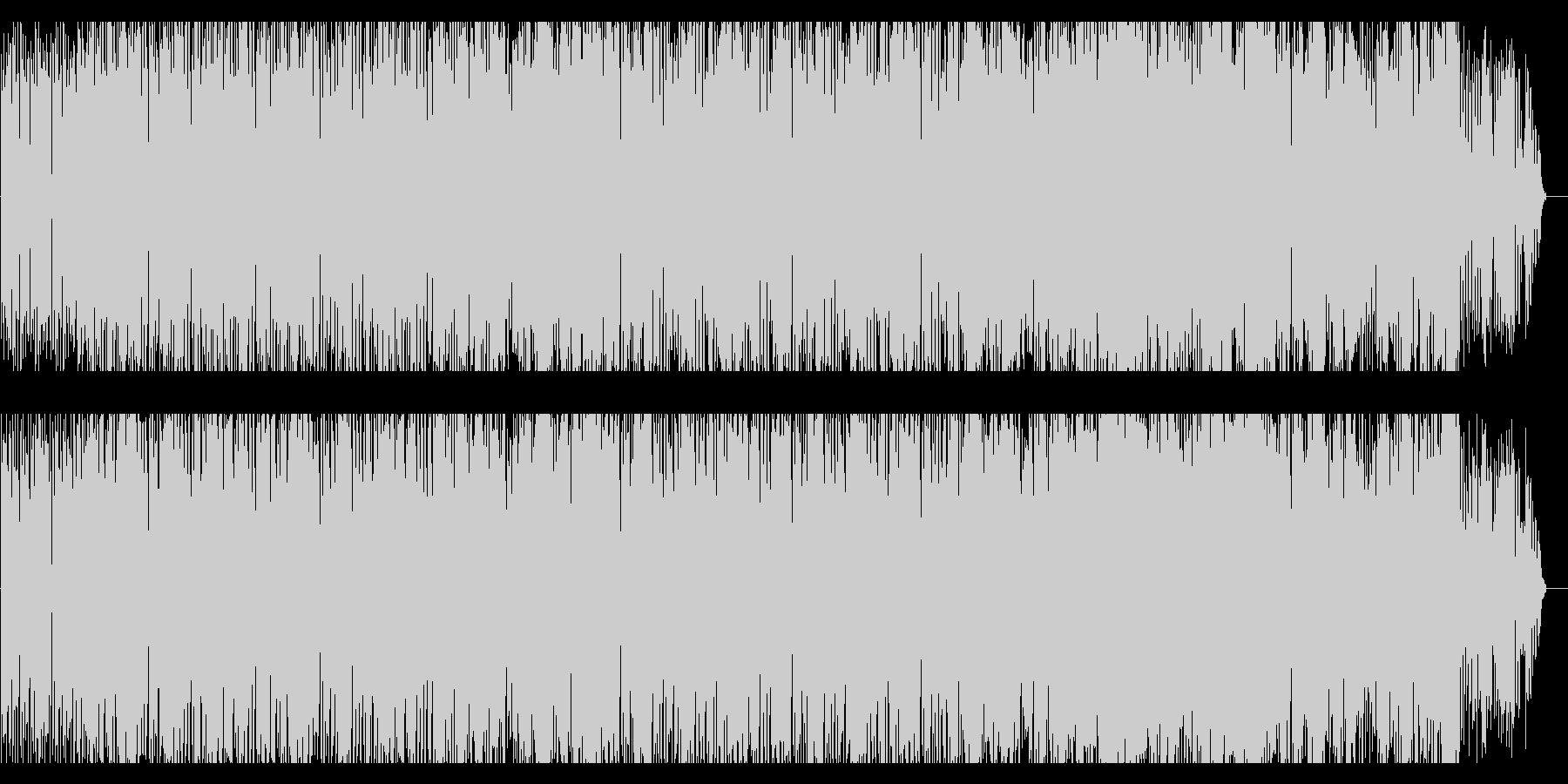 フルートが印象的なお洒落なサウンドの未再生の波形