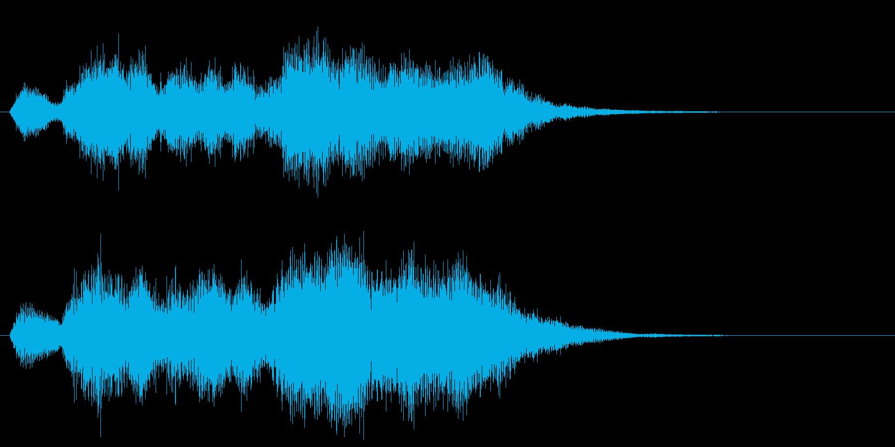 華やかで明るいファンファーレ2 金管のみの再生済みの波形