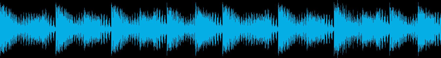 BPM128EDMリズムループキーF# の再生済みの波形