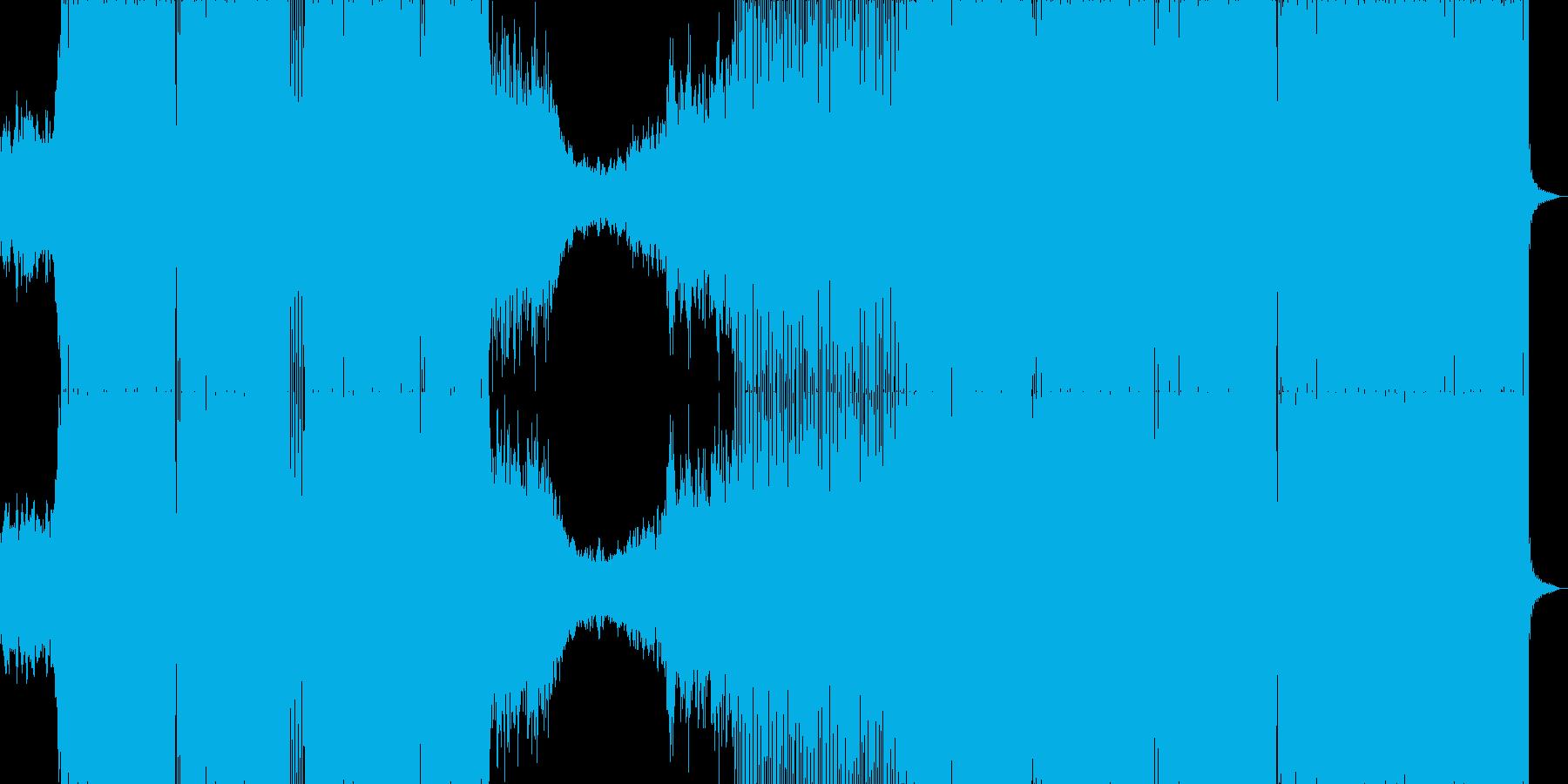 ゲームBGM風の爽やかなハウスサウンドの再生済みの波形