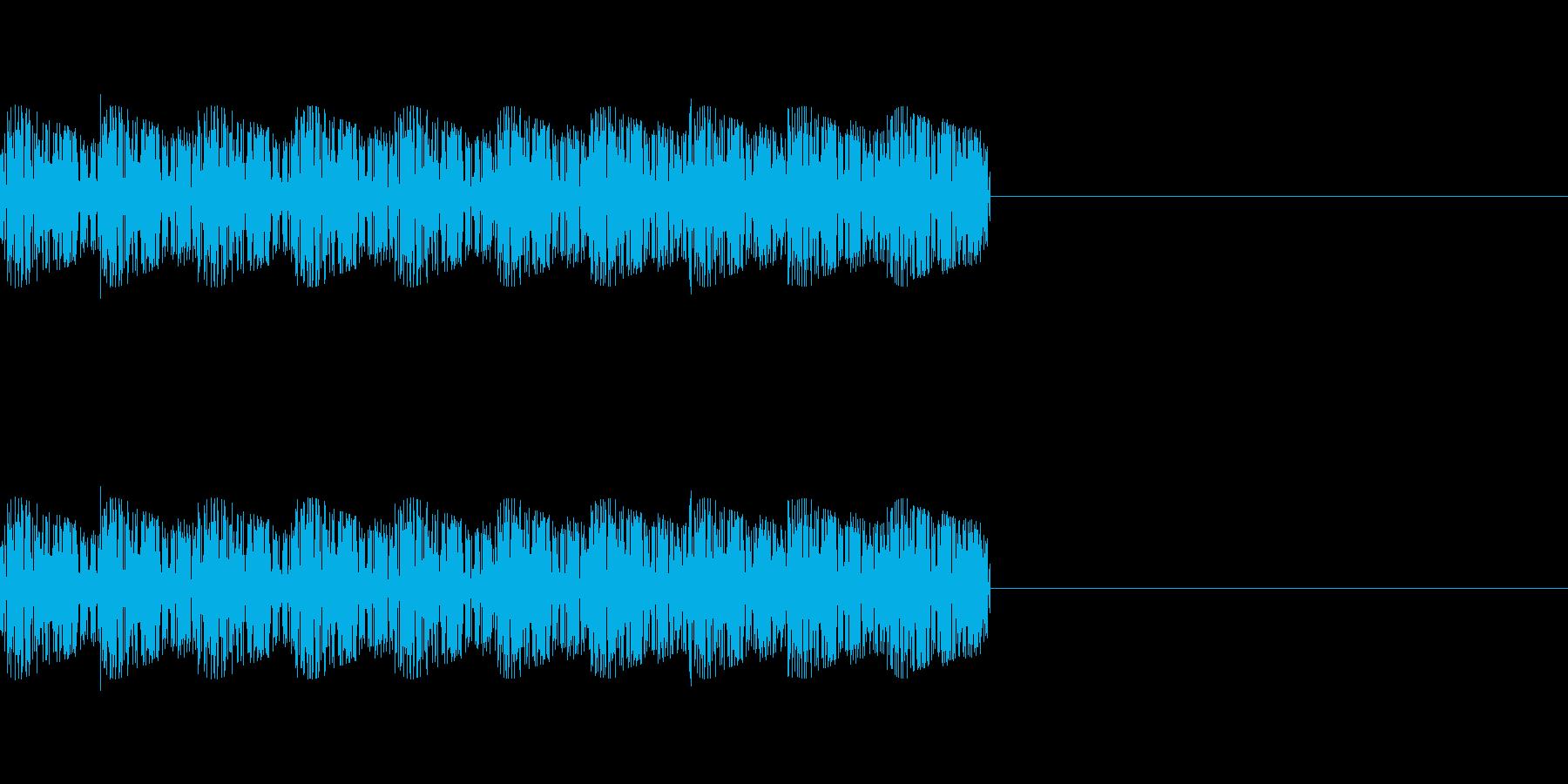 「ピロリロリロ」レトロゲーム強魔法、攻撃の再生済みの波形