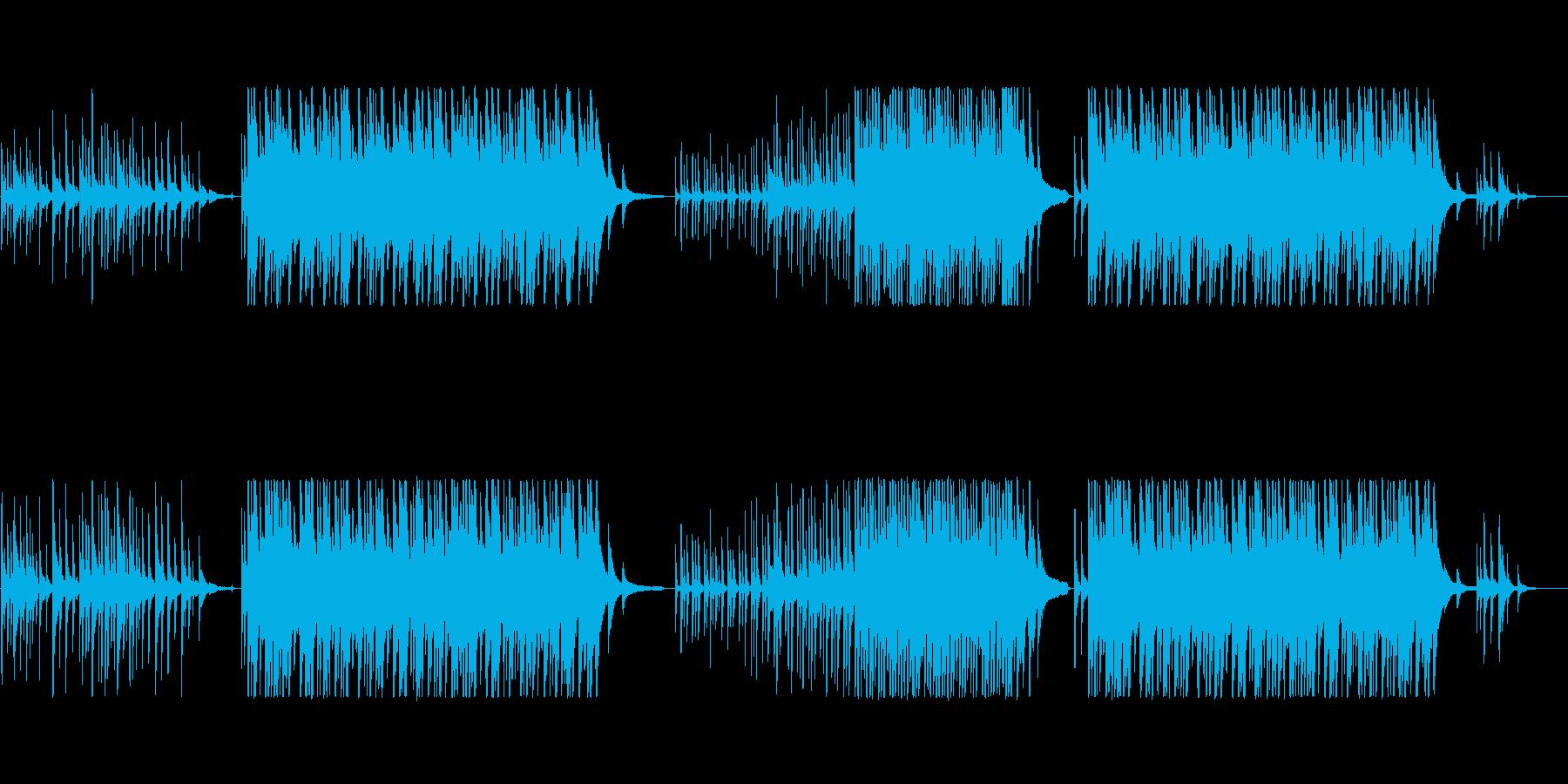 切ない抒情的なピアノソロの再生済みの波形