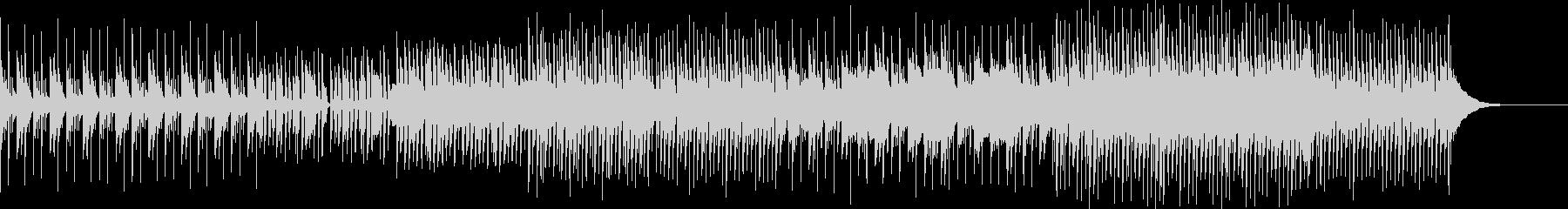 明るくほのぼの・生楽器のエレクトロニカの未再生の波形