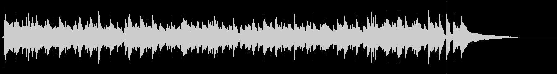アコギ独奏 開放感のあるカッティングの未再生の波形
