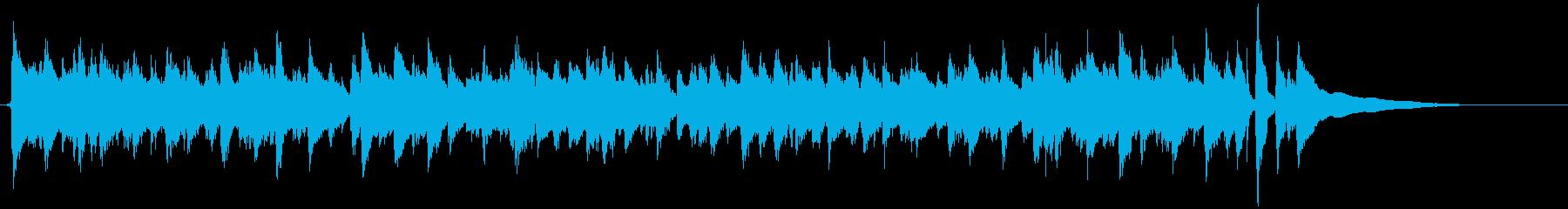 アコギ独奏 開放感のあるカッティングの再生済みの波形