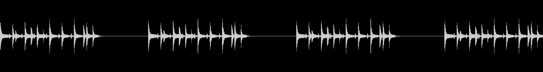 和風のドラムLOOPですの未再生の波形
