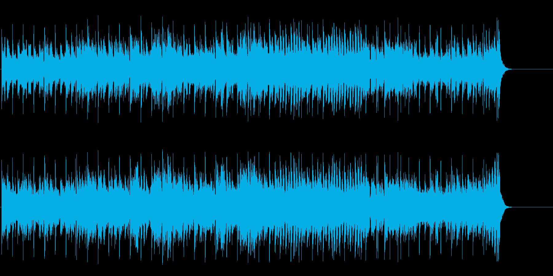力強いファンク ポップ(イントロ~A…)の再生済みの波形