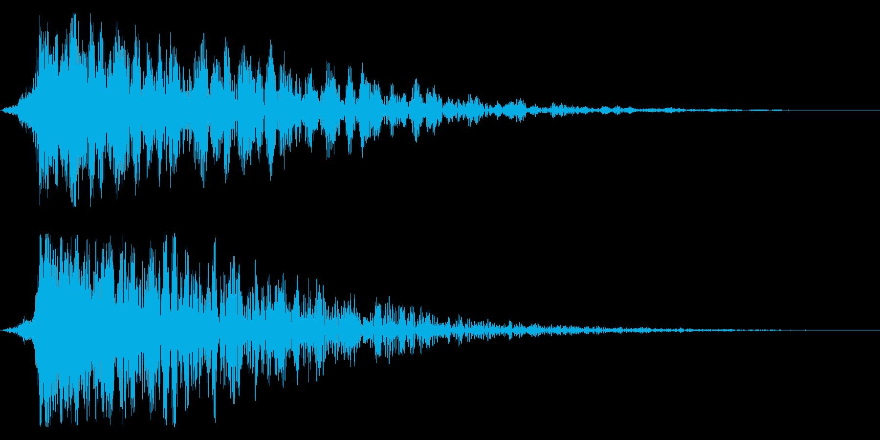 シネマティック ヒット インパクト!12の再生済みの波形