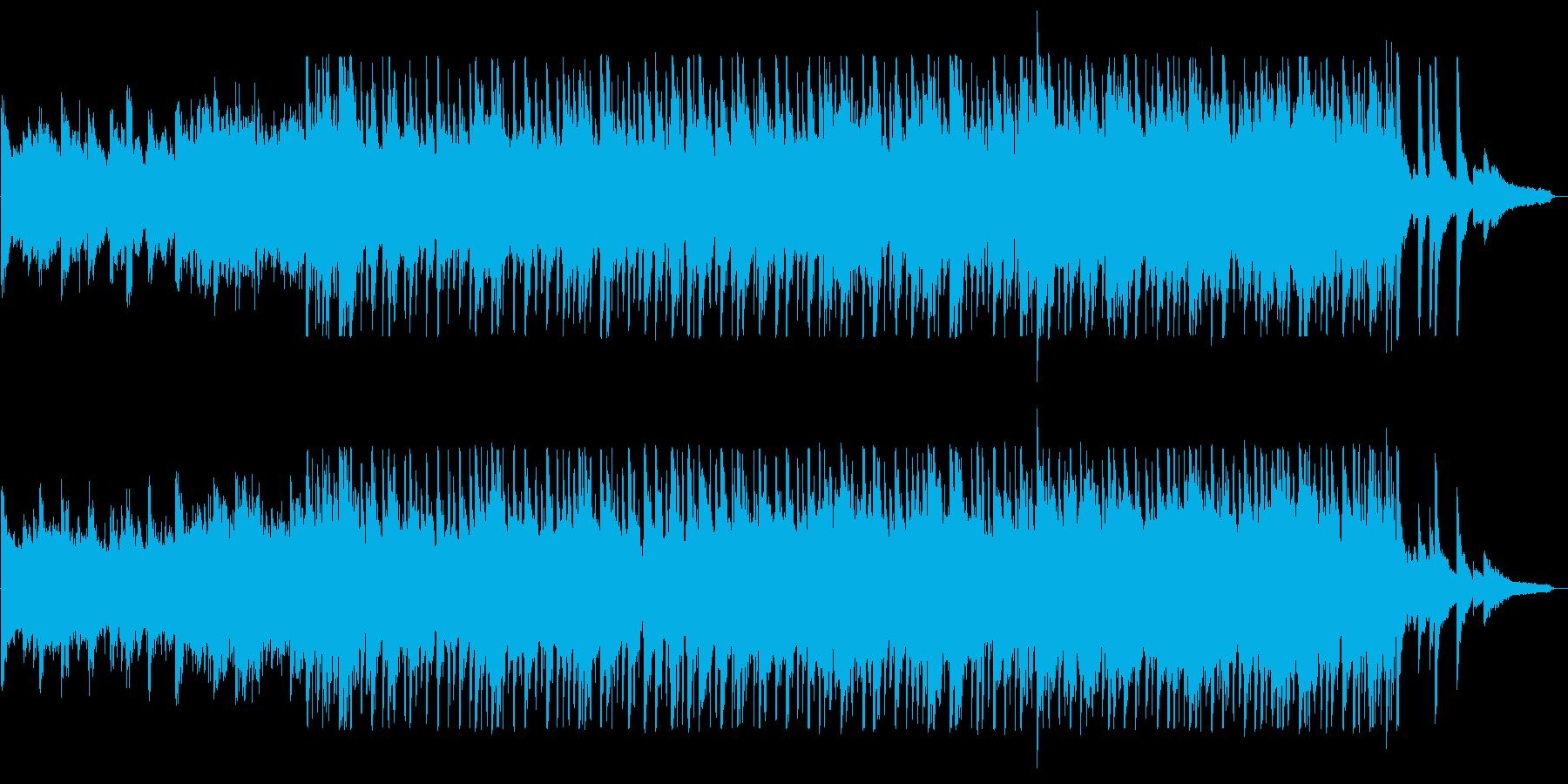 朝にぴったりな爽やかピアノサウンドの再生済みの波形