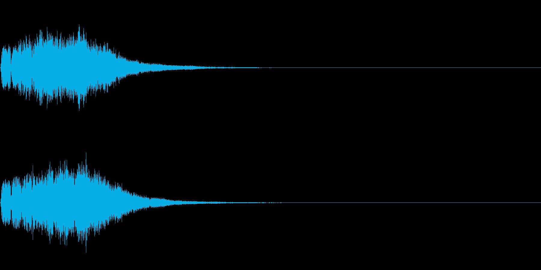 ベル 01(キラキラキラン)の再生済みの波形