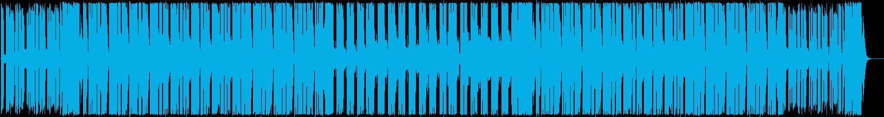 明るく都会的な80's風ディスコファンクの再生済みの波形