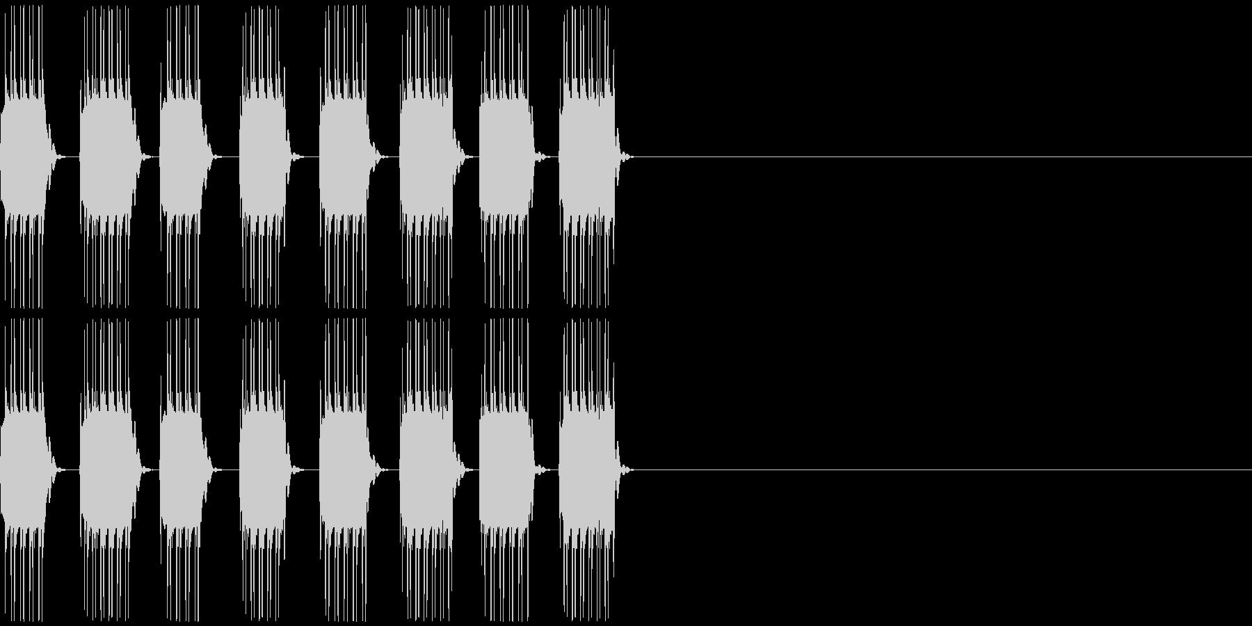 NG、キャンセル等の未再生の波形