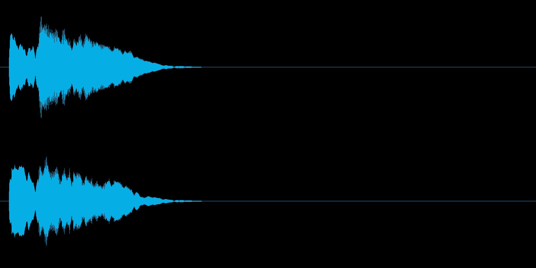 クイズ系04 正解 ピンポンの再生済みの波形