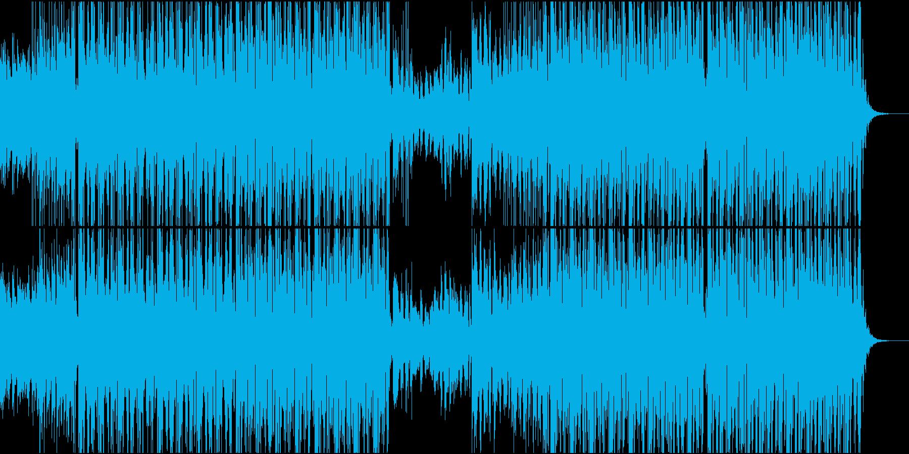 ボイスサンプルによるフューチャーベースの再生済みの波形