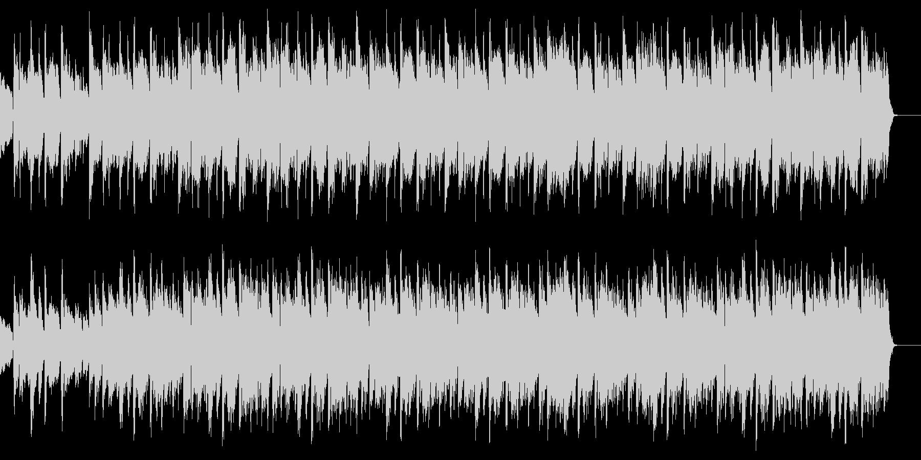 BGMに合いそうな優しい音楽の未再生の波形