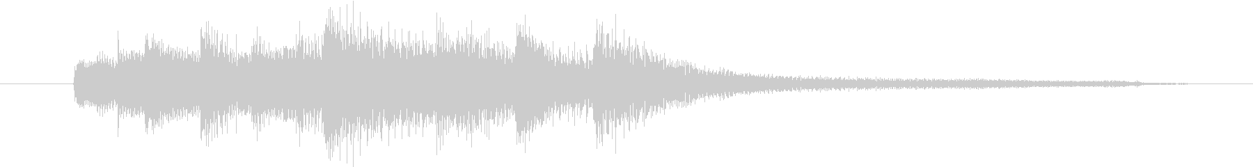 【生楽器】7拍子でクールでお洒落で……の未再生の波形